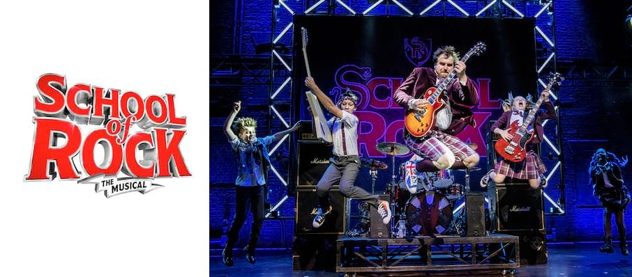The School of Rock at Norwich Theatre Royal